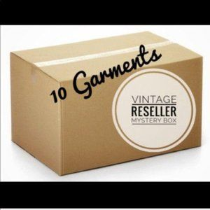 Vintage Reseller Mystery Box 10 Items Surprise